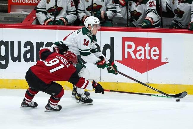 Minnesota Wild vs Arizona Coyotes NHL Picks, Odds, Predictions 4/14/21
