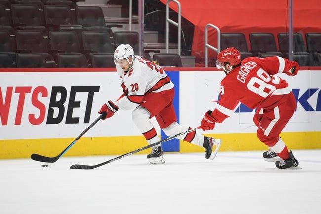 Detroit Red Wings at Carolina Hurricanes - 4/10/21 NHL Picks and Prediction