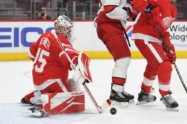 Carolina Hurricanes vs Detroit Red Wings NHL Picks, Odds, Predictions 4/10/21