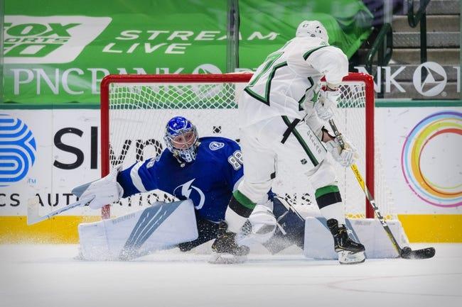 Dallas Stars vs Tampa Bay Lightning NHL Picks, Odds, Predictions 3/23/21
