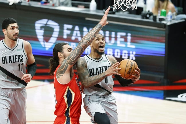 New Orleans Pelicans at Portland Trail Blazers - 3/18/21 NBA Picks and Prediction