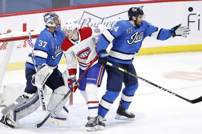 Winnipeg Jets at Montreal Canadiens - 4/8/21 NHL Picks and Prediction