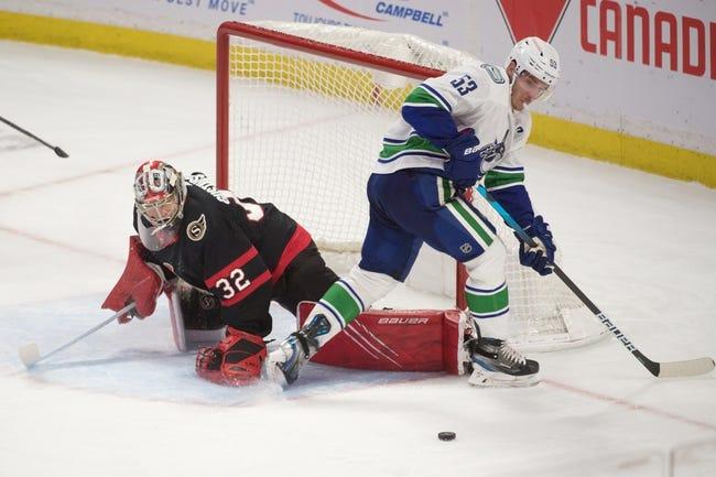 Ottawa Senators at Vancouver Canucks - 4/22/21 NHL Picks and Prediction