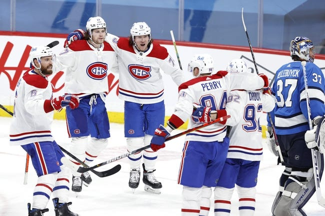 Montreal Canadiens vs Winnipeg Jets NHL Picks, Odds, Predictions 4/8/21