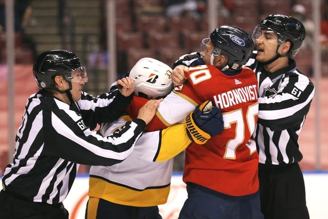Florida Panthers vs Nashville Predators NHL Picks, Odds, Predictions 3/20/21