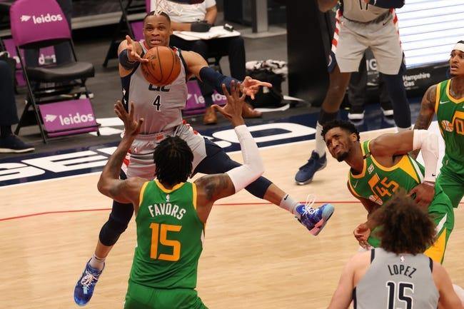 Washington Wizards at Utah Jazz - 4/12/21 NBA Picks and Prediction
