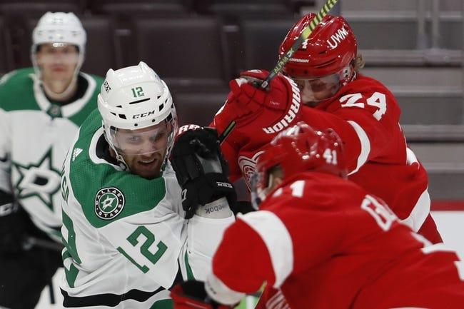 Detroit Red Wings vs Dallas Stars NHL Picks, Odds, Predictions 3/20/21