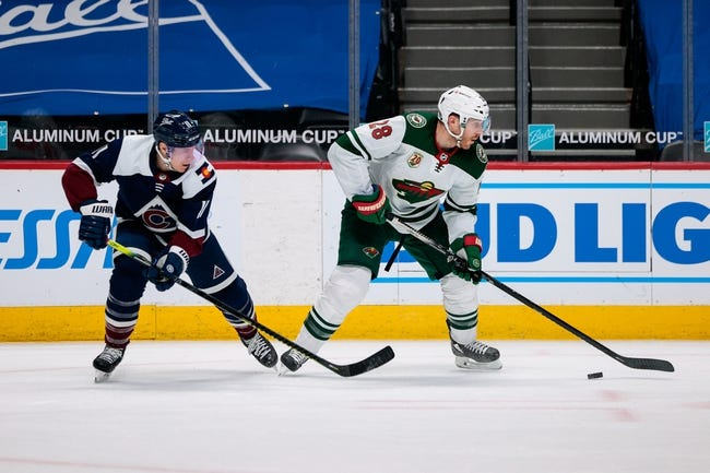 Colorado Avalanche vs Minnesota Wild NHL Picks, Odds, Predictions 3/20/21