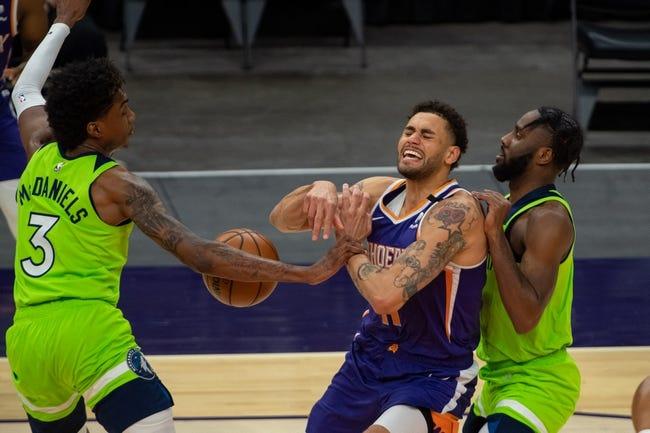 Minnesota Timberwolves at Phoenix Suns - 3/19/21 NBA Picks and Prediction