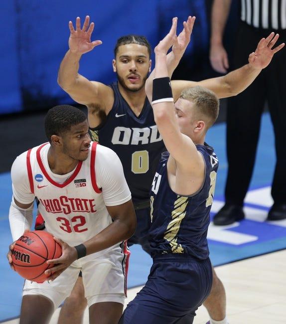 Oral Roberts at Florida - 3/21/21 College Basketball Picks and Prediction
