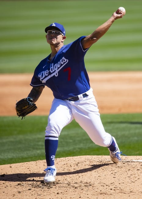 Washington Nationals at Los Angeles Dodgers - 4/10/21 MLB Picks and Prediction