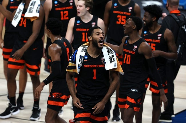Oregon State at Oklahoma State 3/21/21 College Basketball Picks and Predictions