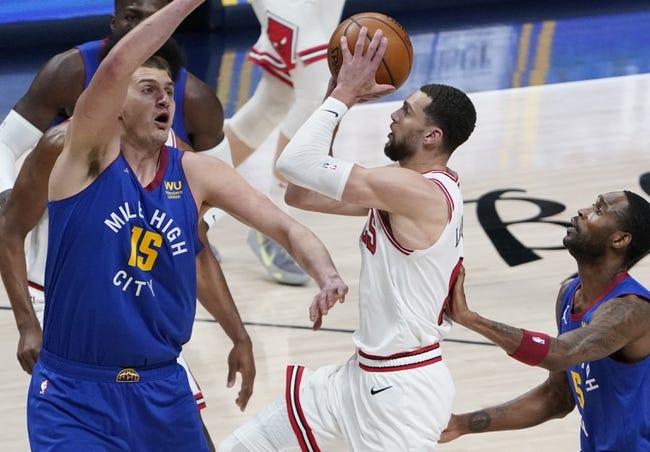 Utah Jazz at Chicago Bulls - 3/22/21 NBA Picks and Prediction