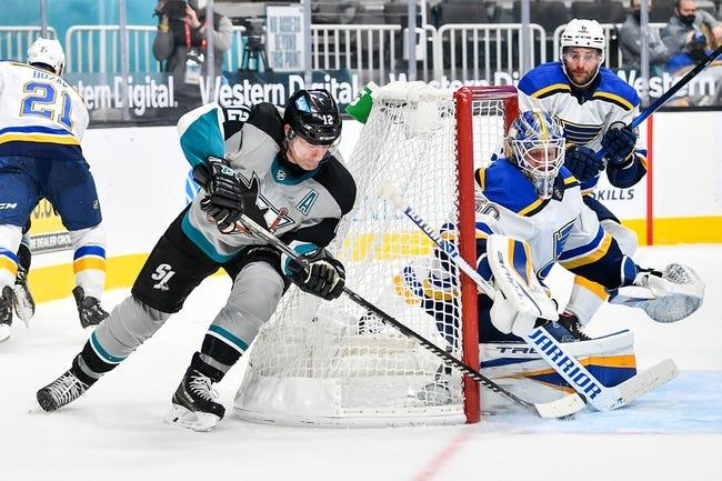 San Jose Sharks vs St. Louis Blues NHL Picks, Odds, Predictions 3/20/21
