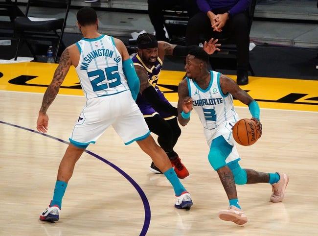 Charlotte Hornets at Houston Rockets - 3/24/21 NBA Picks and Prediction