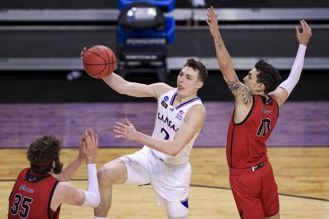 USC at Kansas:  3/22/21 NCAA Tournament College Basketball Picks and Predictions