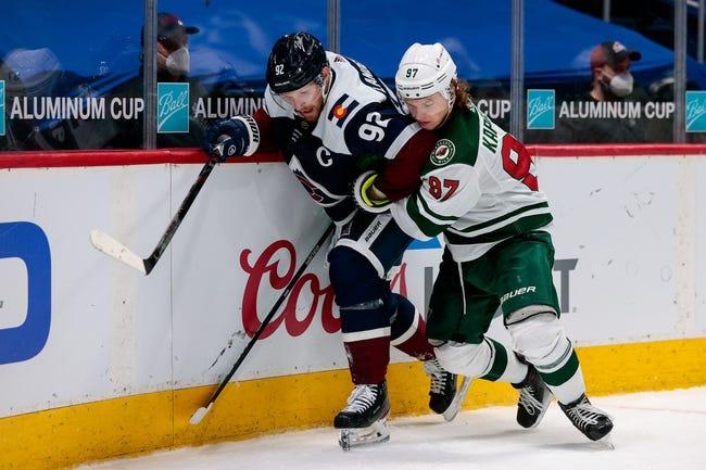 Minnesota Wild vs Colorado Avalanche NHL Picks, Odds, Predictions 4/5/21