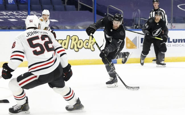 Chicago Blackhawks vs Tampa Bay Lightning NHL Picks, Odds, Predictions 4/27/21