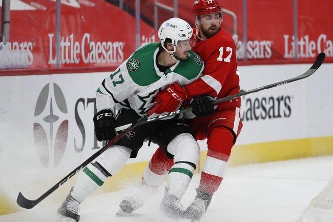 Detroit Red Wings at Dallas Stars - 4/19/21 NHL Picks and Prediction