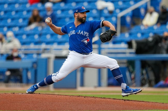 Texas Rangers vs Toronto Blue Jays MLB Picks, Odds, Predictions 4/6/21