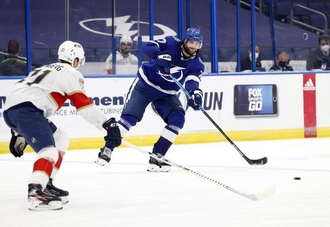 Florida Panthers at Tampa Bay Lightning - 4/15/21 NHL Picks and Prediction