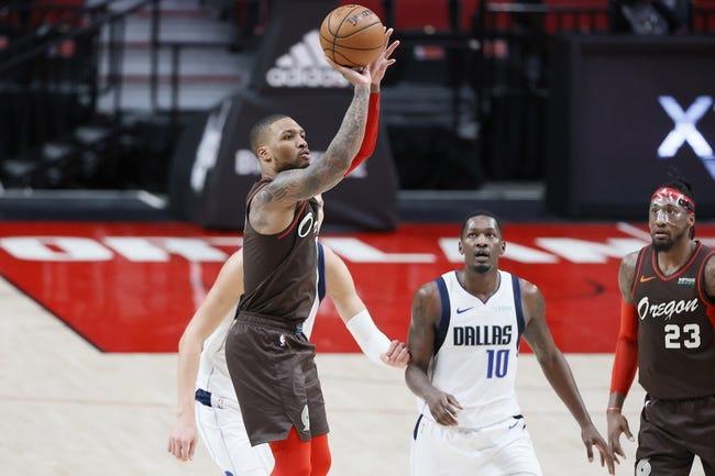 Portland Trail Blazers at Miami Heat - 3/25/21 NBA Picks and Prediction