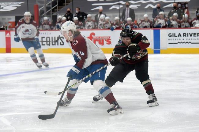 Arizona Coyotes vs Colorado Avalanche NHL Picks, Odds, Predictions 3/23/21