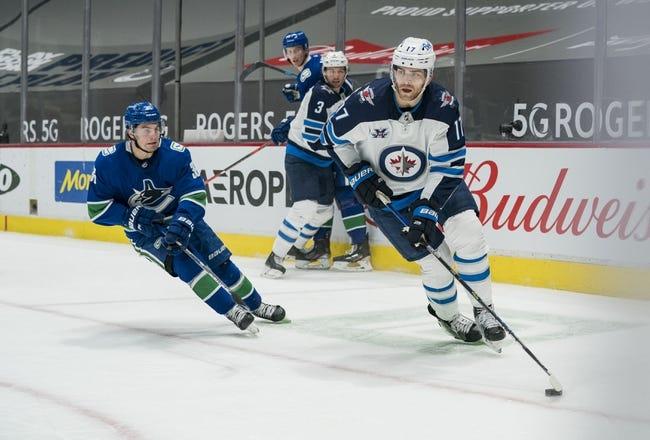 Vancouver Canucks vs Winnipeg Jets NHL Picks, Odds, Predictions 3/24/21