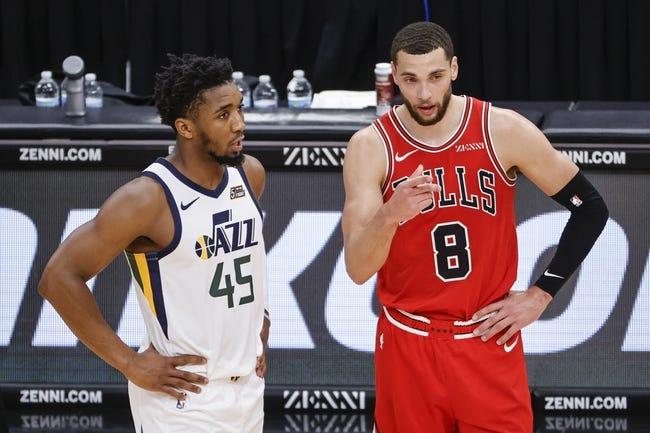 Chicago Bulls at Utah Jazz - 4/2/21 NBA Picks and Prediction