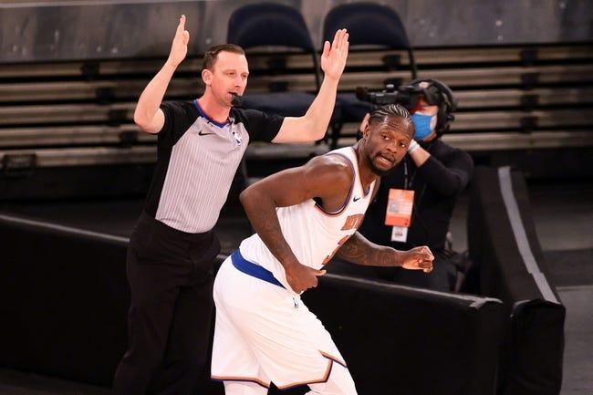 Washington Wizards at New York Knicks - 3/25/21 NBA Picks and Prediction
