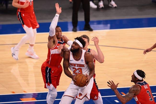 New York Knicks vs Washington Wizards NBA Picks, Odds, Predictions 3/25/21