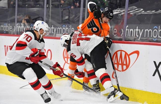 Philadelphia Flyers vs New Jersey Devils NHL Picks, Odds, Predictions 4/25/21