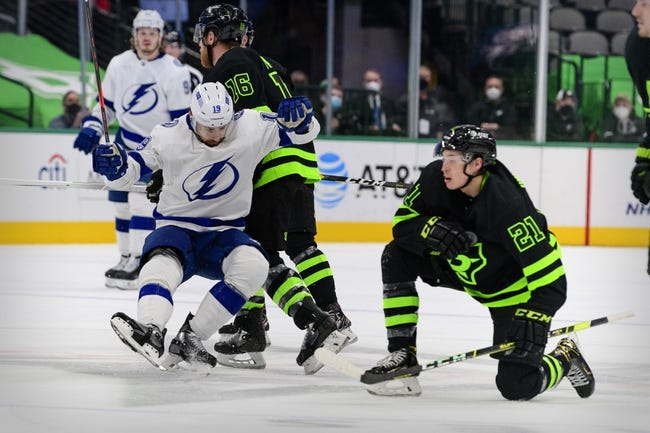 Dallas Stars vs Tampa Bay Lightning NHL Picks, Odds, Predictions 3/25/21