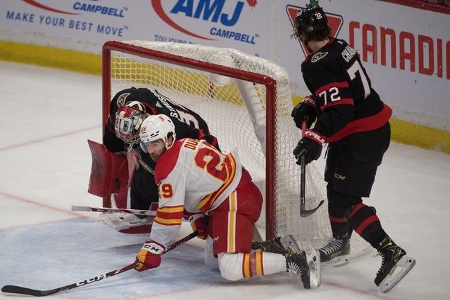 Calgary Flames vs Ottawa Senators NHL Picks, Odds, Predictions 4/19/21
