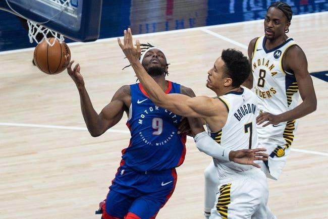 Brooklyn Nets at Detroit Pistons - 3/26/21 NBA Picks and Prediction