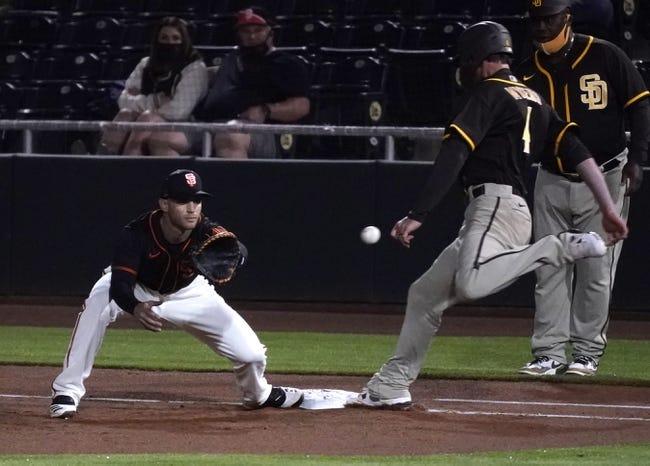 San Diego Padres vs San Francisco Giants MLB Picks, Odds, Predictions 4/5/21
