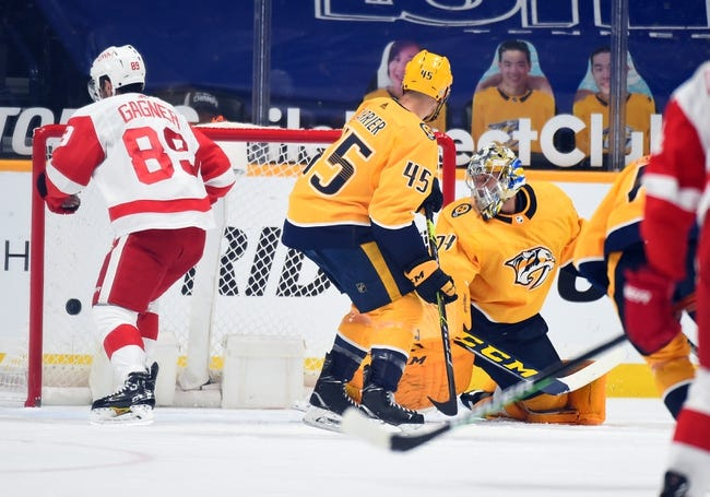 Detroit Red Wings vs Nashville Predators NHL Picks, Odds, Predictions 4/6/21