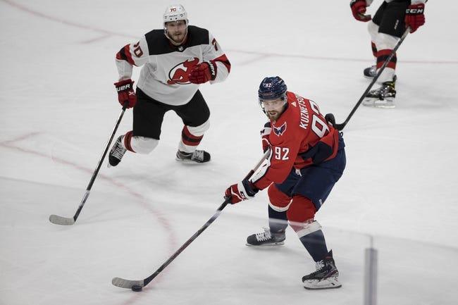 Washington Capitals vs New Jersey Devils NHL Picks, Odds, Predictions 3/26/21
