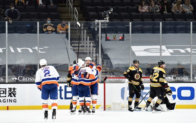 Boston Bruins vs New York Islanders NHL Picks, Odds, Predictions 4/15/21
