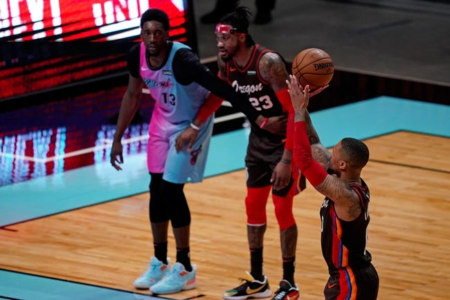 Miami Heat at Portland Trail Blazers - 4/11/21 NBA Picks and Prediction
