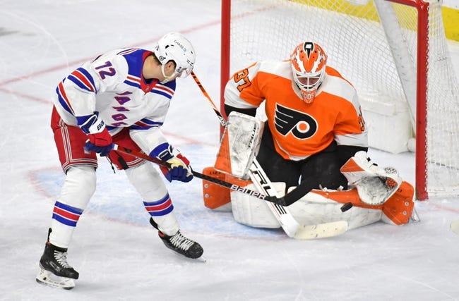 Philadelphia Flyers vs New York Rangers NHL Picks, Odds, Predictions 3/27/21