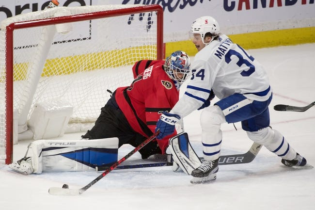 Toronto Maple Leafs vs Ottawa Senators NHL Picks, Odds, Predictions 4/10/21