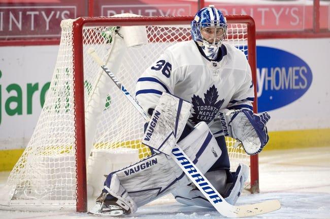 Ottawa Senators at Toronto Maple Leafs - 4/10/21 NHL Picks and Prediction