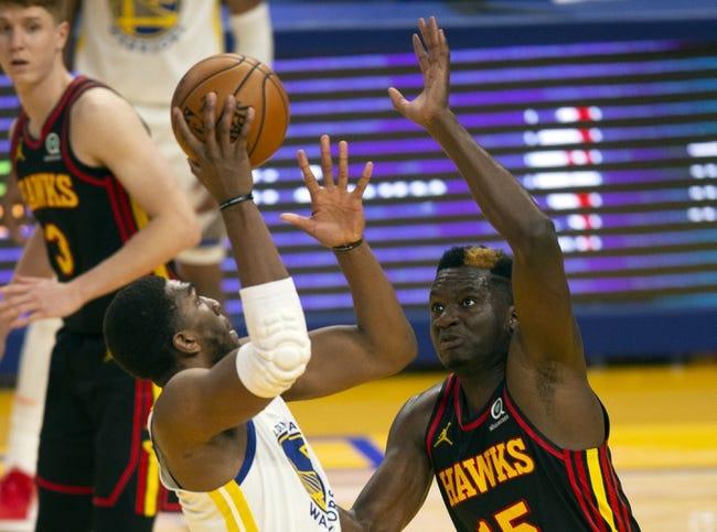 Golden State Warriors at Atlanta Hawks - 4/4/21 NBA Picks and Prediction