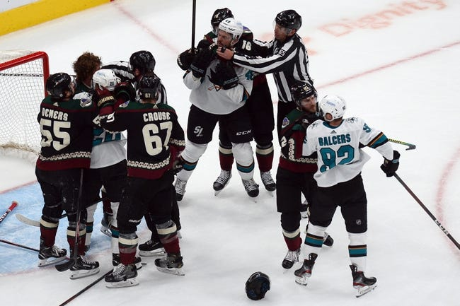 Arizona Coyotes vs San Jose Sharks NHL Picks, Odds, Predictions 3/27/21