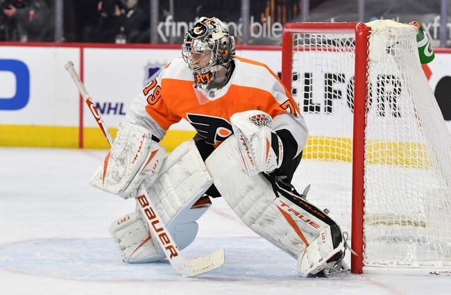 New Jersey Devils at Philadelphia Flyers - 4/25/21 NHL Picks and Prediction