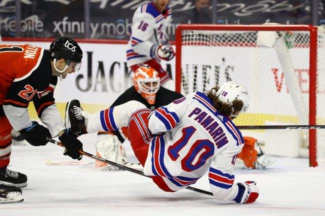 New York Rangers vs Philadelphia Flyers NHL Picks, Odds, Predictions 4/22/21