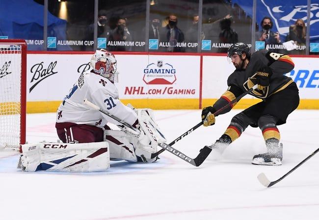 Vegas Golden Knights vs Colorado Avalanche NHL Picks, Odds, Predictions 4/28/21