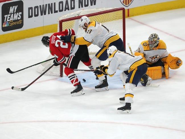 Chicago Blackhawks vs Nashville Predators NHL Picks, Odds, Predictions 3/28/21
