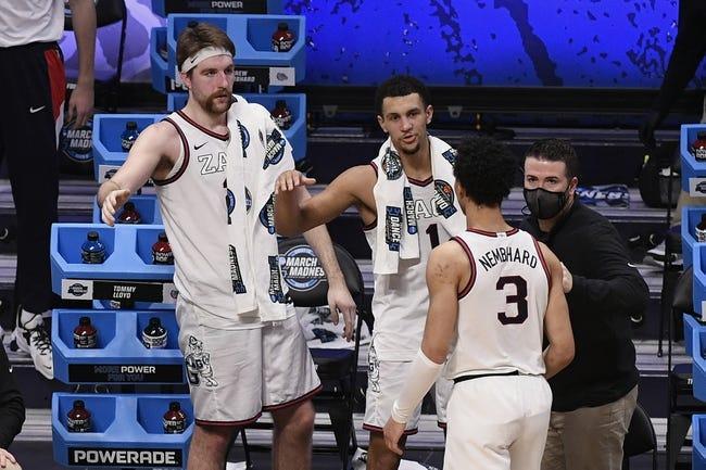 Elite 8 Picks: Gonzaga vs USC 3/30/21 College Basketball Picks, Odds, and Predictions